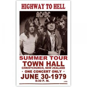 La tournée d'été d'AC/DC affiche