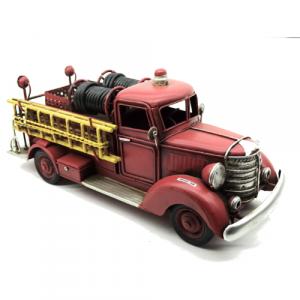 vehicule de pompier rouge