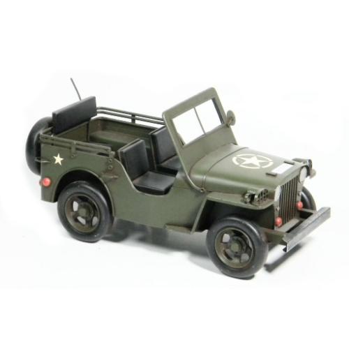 miniature véhicule ancien jeep